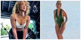 FOTO // Instagram versus realitate. Cum arată divele de la Hollywood în costum de baie, fără Photoshop
