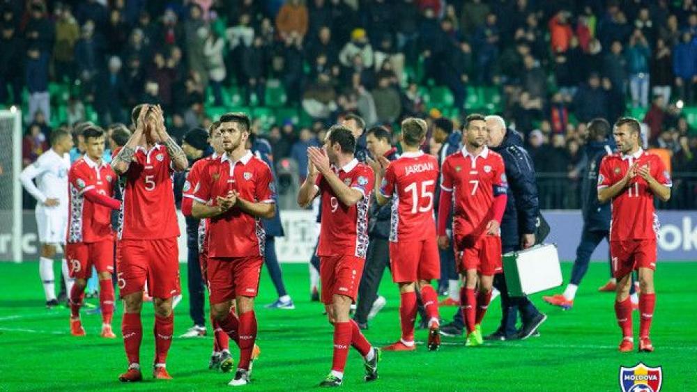 VIDEO // Înfrângere drastică pentru naționala de fotbal a Moldovei. Tricolorii sunt cu moralul la pământ