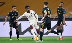 """AS Roma - Ajax 1-1. Capitolinii au """"tremurat"""" pe Olimpico, dar au ajuns în """"careul de ași"""" al UEL"""