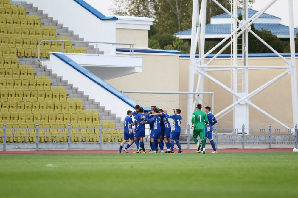 FOTO-VIDEO // Naționala R.Moldova a obținut o victorie în preliminariile Campionatului european de tineret 2021