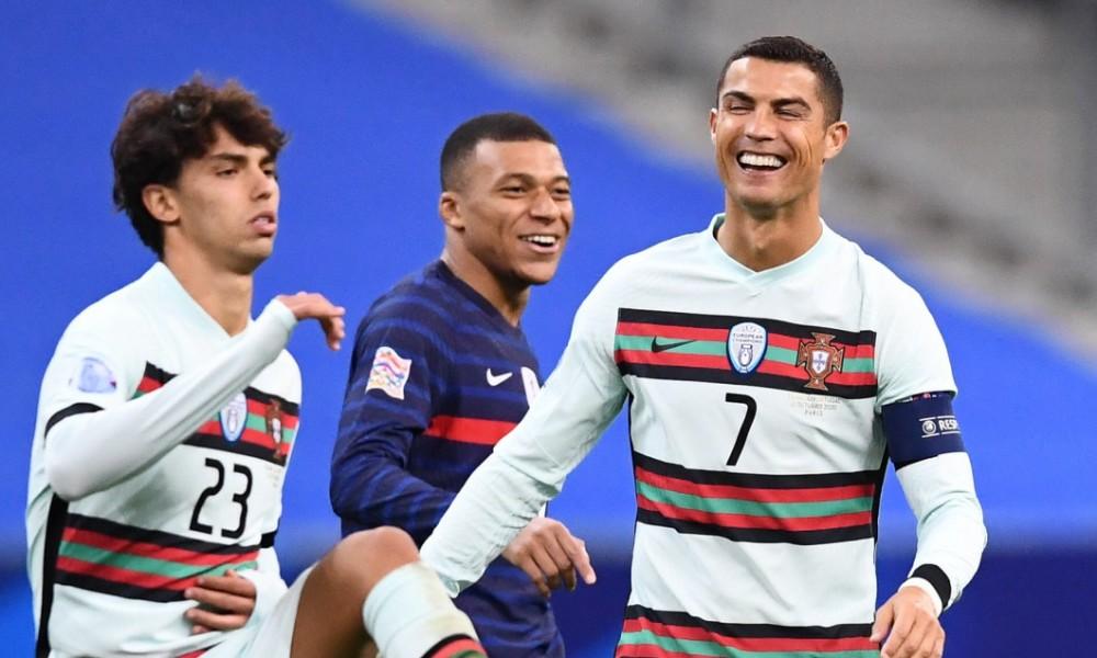 Cristiano Ronaldo și Kylian Mbappe, dialog spumos pe gazon: Vii la Juventus? Iată reacția francezului