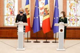Declarațiile Maiei Sandu după întrevederea cu Ministrul britanic pentru Vecinătatea Europeană, Wendy Morton