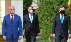 Lovitură grea pentru Igor Dodon. Klaus Iohannis și Andrzej Duda au reafirmat sprijinul pentru apropierea Republicii Moldova de UE