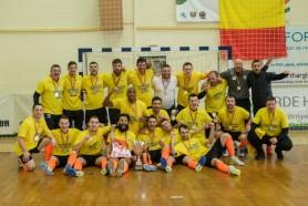 Un moldovean a ajuns campion al României la futsal. În finală au ajuns 4 conaționali de la 2 echipe diferite